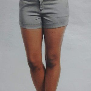 Gray Dress Shorts With Pockets ( S M L)